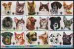 Сомали 2005 год. Собаки и кошки. 9 марок