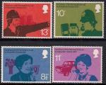 Великобритания 1976 год. 100 лет телефонной связи. 4 марки