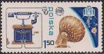 Польша 1976 год. 100 лет изобретению телефона. 1 марка