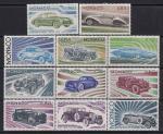 Монако 1975 год. История автомобилестроения. 11 марок