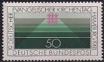 ФРГ 1981 год. Церковный день в Германии. 1 марка