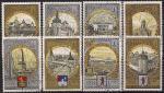 СССР 1978 год. Туризм по Золотому кольцу. 8 гашеных марок