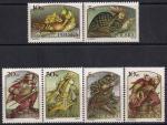 Польша 1986 год. Герои польской мифологии. 6 марок