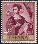 Испания 1969 год. Живопись испанского художника Алонсо Кано. 1 марка из серии (ном. 40)