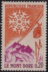 Франция 1961 год. Горнолыжный курорт Мон-Дор. 1 марка