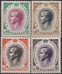 Монако 1960 год. Принц Ренье Третий. 4 марки