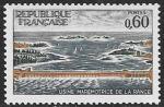 Франция 1966 год. Ввод в эксплуатацию приливной электростанции, 1 марка