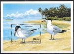 Мальдивы 1993 год. Птицы, блок. (две)