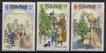 Остров Мэн (Великобритания) 1987 год. Рождество. 3 марки  (н)