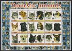 Сомали 2005 год. Домашние животные - собаки, кошки. 1 блок