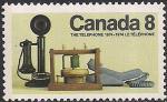 Канада 1974 год. 100 лет изобретению телефона. 1 марка