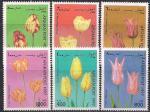 Афганистан 1997 год. Тюльпаны. 6 марок