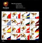 Португалия 2004 год. Чемпионат Европы по футболу. Малый лист (1)