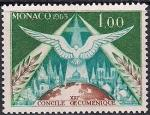 Монако 1963 год. Экуменистический Собор.1 марка