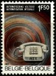 Бельгия 1971 год. Автоматизация в телефонии. 1 марка