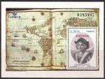 """Испания 2013 год. Горный пик """"Кристобаль Колон"""" в Колумбии (145.4127). Блок"""