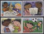 Гибралтар 2006 год. Игры детей. 4 марки