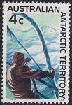 Австралийские Антарктические территории 1966 год. Айсберги. 1 марка из серии (ном 4)