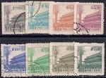 Китай 1954 год. Пагоды. 8 гашеных марок
