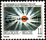"""Бельгия 1993 год. 50 лет газете """"Le Soir"""". 1 марка"""