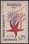 Монако 1961 год. Всемирный конгресс по защите морской фауны. 1 марка