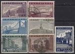 CCCР 1939 год. Реконструкция Москвы. 7 гашеных марок