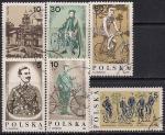 Польша 1986 год. 100 лет Варшавскому велосипедному клубу. 6 гашёных марок