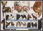 Сомали 2003 год. Породы собак. 1 блок
