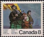 Канада 1973 год. 200-ая годовщина прибытия поселенцев в Пиктоу. 1 марка