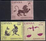 Фернандо По (Экваториальная Гвинея) 1968 год. Испания. Знаки зодиака. (375.261). 3 марки