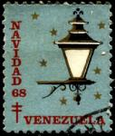 Венесуэла 1968 год. Непочтовая марка Красного Креста