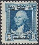 США 1932 год. 200 лет со дня рождения Джорджа Вашингтона. 1 марка из серии