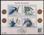 Норвегия 1991 год. Норвежские олимпийские чемпионы, участники зимних Олимпийских игр разных лет. Блок