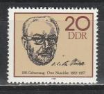 Отто Нушке, ГДР 1983, 1 марка
