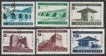 Болгария 1966 год. Памятники культуры, 6 гашёных марок