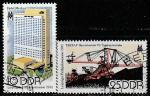 ГДР 1981 год. Лейпцигская весенняя ярмарка, 2 гашёные марки