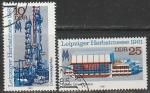 ГДР 1981 год. Лейпцигская осенняя ярмарка, 2 гашёные марки