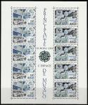 Монако 1991 год. Европа СЕРТ. Европейские космические спутники, блок. (ю)
