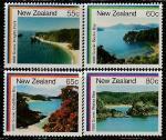 Новая Зеландия 1986 год. Пейзажи, 4 марки