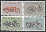 Новая Зеландия 1986 год. Мотоциклы, 4 марки