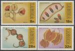 Замбия 1981 год. Фрукты, 4 марки
