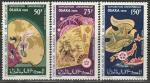 """Мавритания 1970 год. Международная выставка """"ЕХРО-70"""" в Осаке, 3 марки"""