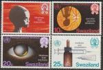 Свазиленд 1976 год. Международный день здоровья. Профилактика слепоты, 4 марки