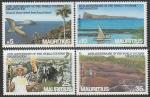 Маврикий 1985 год. 10 лет Международной организации туризма, 4 марки