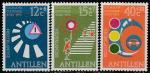 Нидерландские Антильские острова 1973 год. Правила дорожного движения, 3 марки