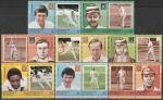 Гренадины и Сент-Винсент 1984 год. Крикет, 8 пар марок