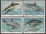 Транскей (ЮАР) 1991 год. Дельфины, 4 марки