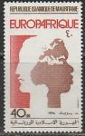 Мавритания 1975 год. 10 лет европейско - африканской экономической организации, 1 марка