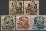 Венгрия 1953 год. 250 лет началу борьбы за свободу, 5 гашёных марок
