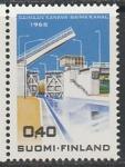 Финляндия 1968 год. Канал Сайма, 1 марка